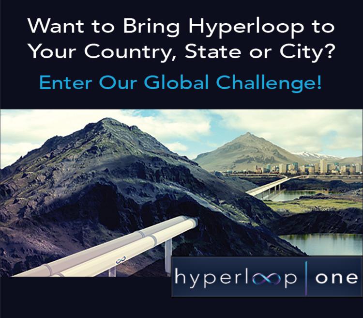 Enter The Hyperloop One Global Challenge