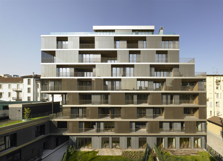 Conversion of a building antonio citterio patricia viel for Design render milano