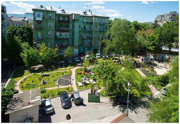 Jardín de los Cien Celestiales / ONG Misto-Sad. Image © AlenaSaponova