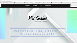 Reinventing Home Kitchen – Design Contest 2016