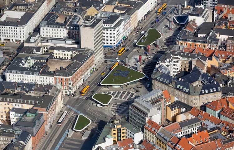 Norreport Station / Gottlieb Paludan Architects. Image © Ole Malling