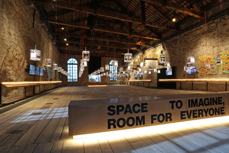 Space to Imagine, Room for Everyone: Inside Singapore's Pavilion at the 2016 Venice Biennale, Singapore Pavilion – Space to Imagine, Room for Everyone - at Biennale Architettura 2016, Venice. Image © Don Wong