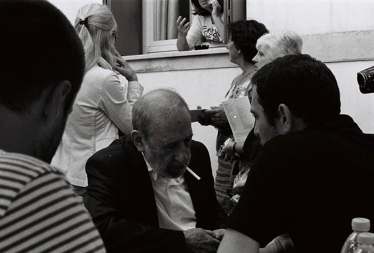 Conversaciones con Álvaro Siza. Image © Josefina Ovalle