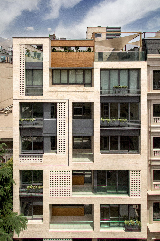 Khazar residential building s a l design studio saeed pirasteh