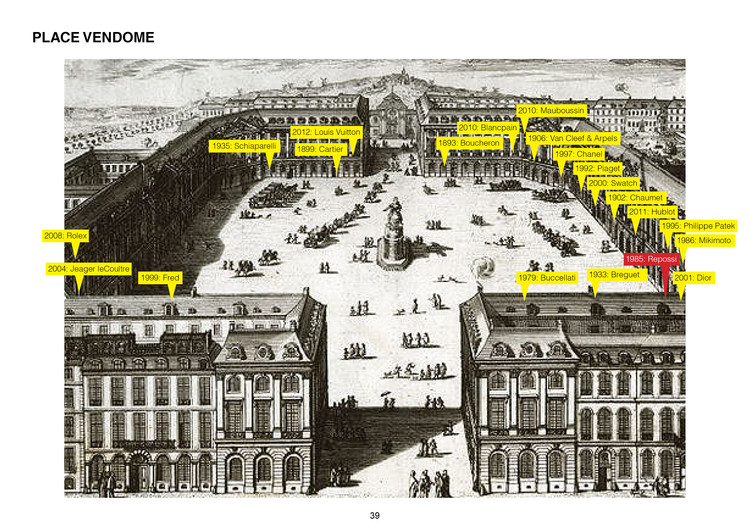 © OMA. Diagrama Place Vendome