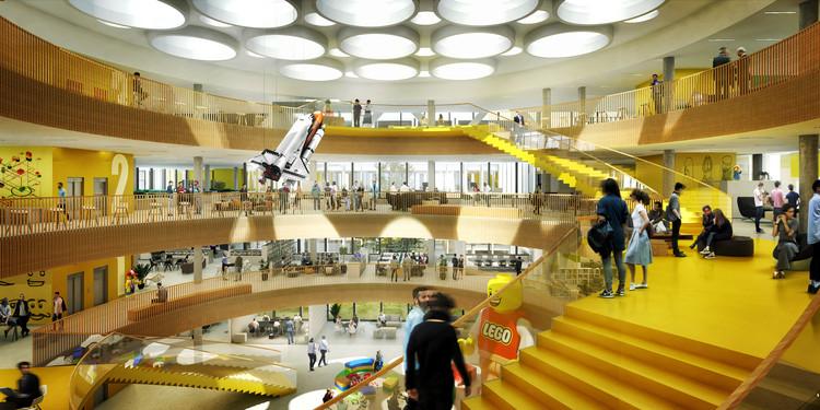 C.F. Møller Designs New Headquarters for LEGO, Courtesy of C.F. Møller
