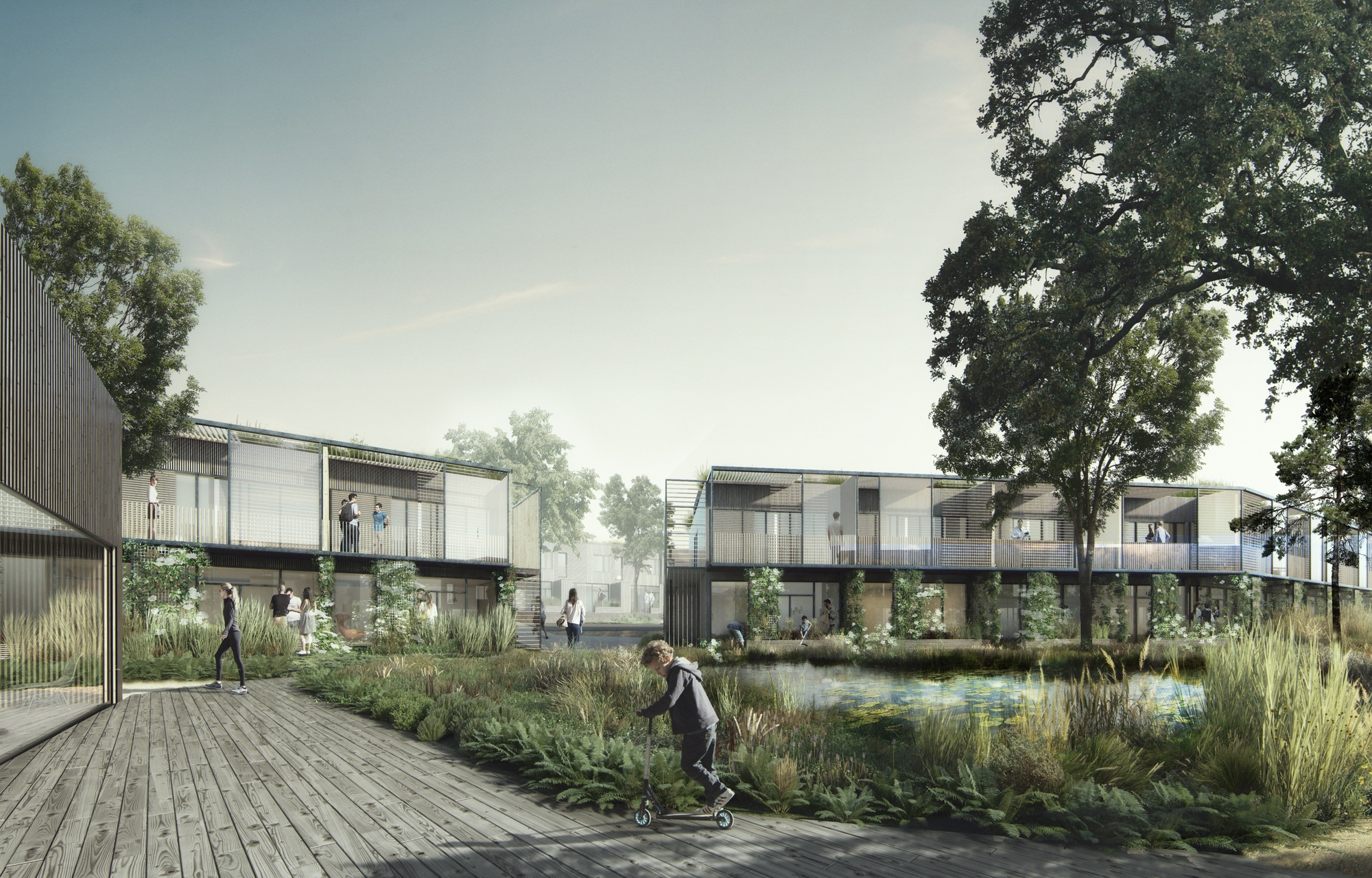 Gallery Of White Arkitekter Blurs The Line Between Built