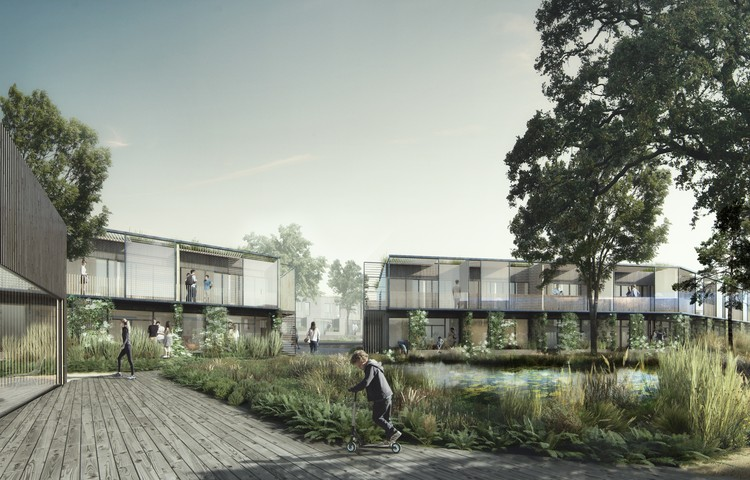 White Arkitekter Blurs the Line Between Built and Natural in Housing Project Design, © White Arkitekter and Beauty and the Bit