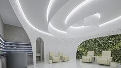 Jardín helicoidal — Salón de uñas Lily / ArchStudio