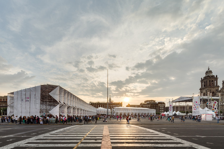 Pabellón de la Feria de las Culturas Amigas 2015 / MMX, © Rafael Gamo