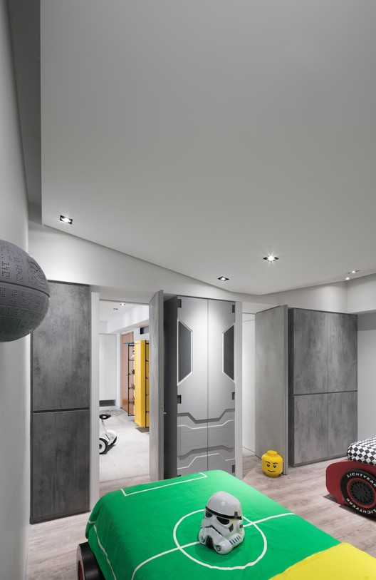 Casa star wars white interior design plataforma arquitectura for Interior designer to the stars