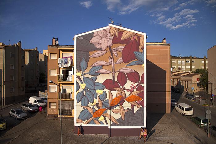 Pastel (2015) - Font de la Pólvora  . Image vía @UrbaniteWebzine