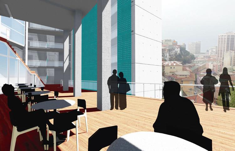 Mención zona norte: Hotel El Surco. Image Cortesía de Arquitectura Caliente