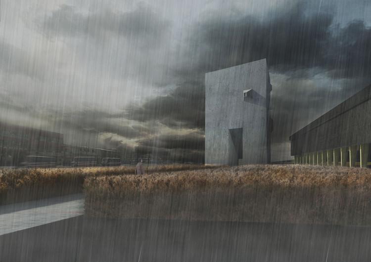 Mención zona sur: Museo de Arte Contemporáneo. Image Cortesía de Arquitectura Caliente