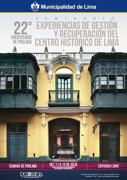 Experiencias de Gestión y Recuperación del Centro Histórico de Lima / Palacio Municipal-Teatro Municipal, Cortesía de PROLIMA