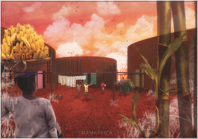 "Honorable Mention ""Ugandan LGBT Youth Asylum"" by Marta Dell'ovo, Aurora Destro, Maria Francesca Di Alessandro and Carlo Alberto Di Carlo. Image Courtesy of Bee Breeders"