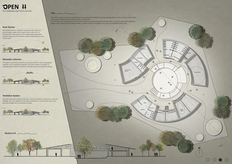 "Honorable Mention ""Ugandan LGBT Youth Asylum"" by Edoardo Nieri and Marco D'Ambrogio. Image Courtesy of Bee Breeders"