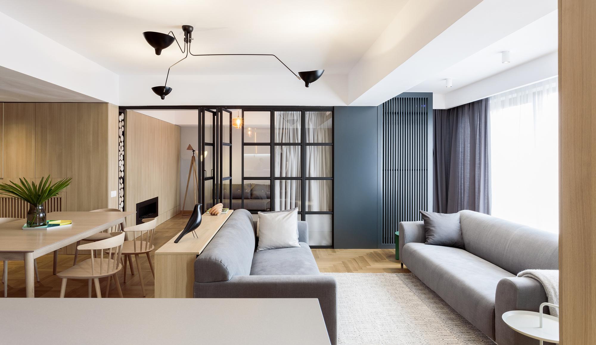 Apartment in bucharest rosu ciocodeica archdaily for Bucharest apartments