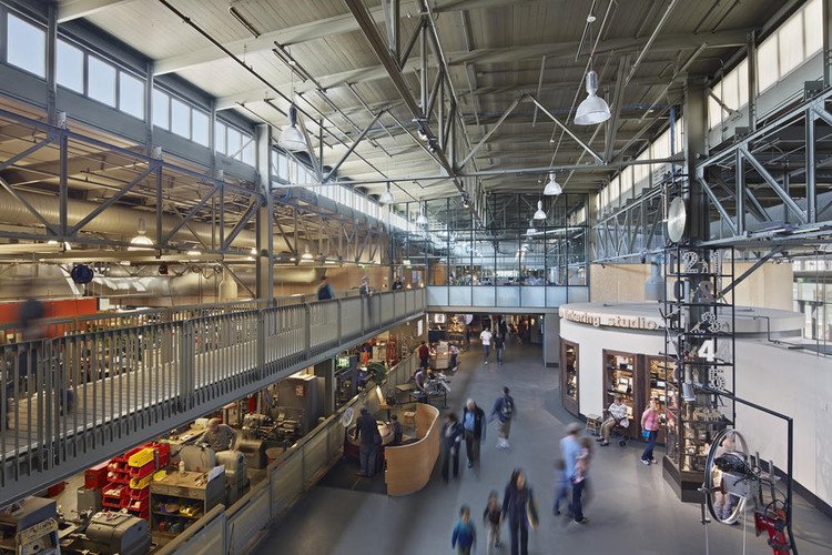 Exploratorium at Pier 15, designed by EHDD, a 2016 AIA/Cote Top Ten winner. Image © Bruce Damonte