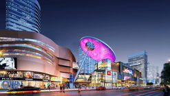"Colorful New Shopping District ""Joytown"" Under Construction in Changsha, China"