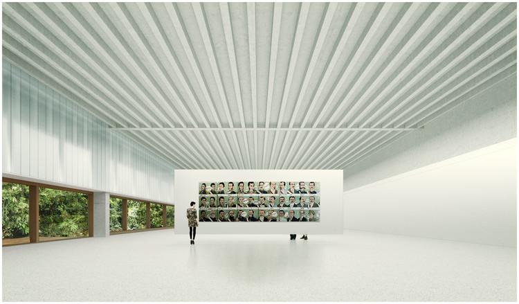 PATIO & PAVILION / Burgos & Garrido Arquitectos Asociados + LLAMA Urban Design. Image Cortesía de Museo de Arte de Lima (MALI)
