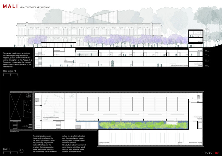 PATIO & PAVILION / Burgos & Garrido Arquitectos Asociados + LLAMA Urban Design