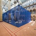 © ICEBERGS en el National Building Museum, por James Corner Field Operations. Imágenes por Timothy Schenck.