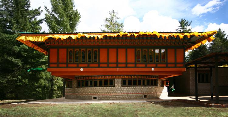 Centro de la Felicidad en Bhután / 1+1>2 , © Hoang Thuc Hao