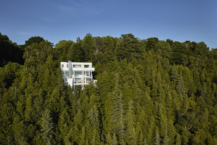 Richard Meier's Douglas House Added to National Register of Historic Places, © James Haefner courtesy of Michigan State Historic Preservation Office