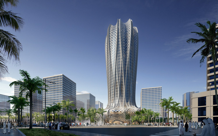 Zaha hadid architects to design hotel and residential for New design hotels 2016