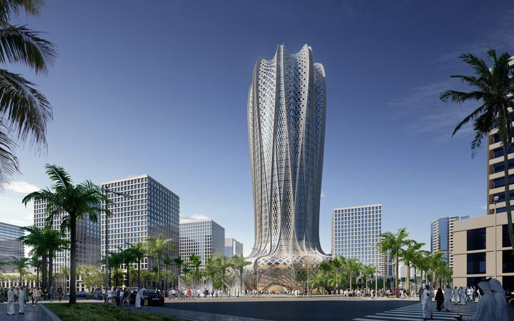Zaha Hadid Architects diseñará nuevo hotel y torre residencial de 38 pisos en Qatar, Cortesía de Zaha Hadid Architects