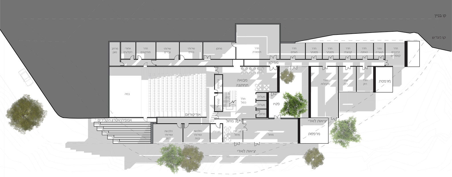 Architecture Design Sheets gallery of neuman hayner architects designs conservatory in israel