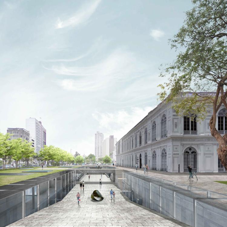 CHAN - CHAN / Linazasoro & Sánchez Arquitectura + Juan Manuel Gutiérrez Gonzáles + Luis Martin Piccini Acuña. Image Cortesía de Museo de Arte de Lima (MALI)