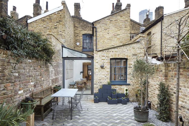 Casa Lambeth Marsh / Fraher Architects, © Jack Hobhouse