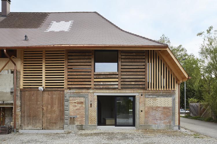 Barn Conversion / Freiluft Architektur, © David Aebi