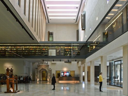 Biblioteca de Weston, Universidad de Oxford / WilkinsonEyre. Imagen © Hélène Binet