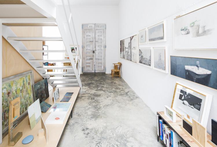 Casa para un Pintor / DTR_studio architects, © Cristina Beltrán