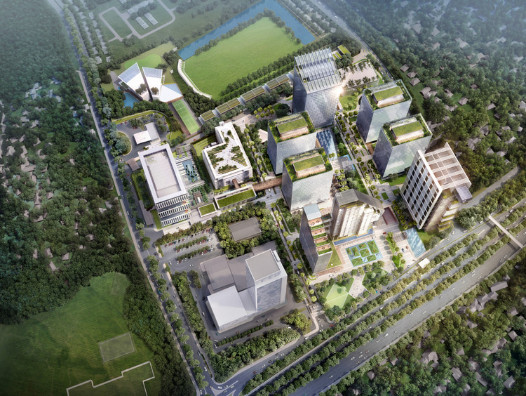 Broadway Malyan to Design Additional Towers for Jakarta Business Park, Courtesy of Broadway Malyan