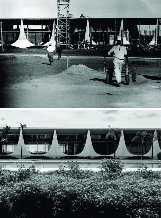 Palácio da Alvorada. Imágenes © Marcel Gautherot e Gonzalo Viramonte