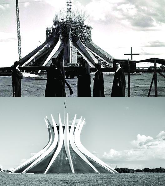Catedral de Brasília. Imágenes © Marcel Gautherot e Gonzalo Viramonte