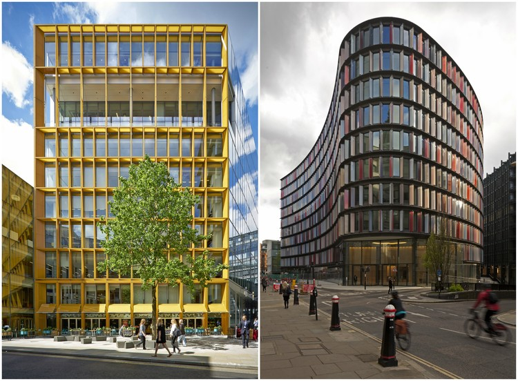 City of London Building Award 2016 Winners Announced, Winner: New Ludgate. Designed by Fletcher Priest Architects and Sauerbruch Hutton. Image
