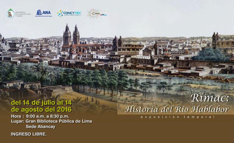 Rímac: Historia del Río Hablador / Gran Biblioteca Pública de Lima (Av. Abancay), © CONCYTEC