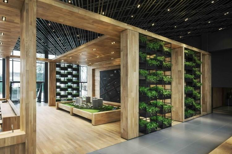 IADC, Gardening Box, Shanghai, China. Imagen cortesía de INSIDE