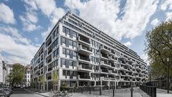 Residential, Office and Hotel Building in Am Zirkus / Eike Becker Architekten