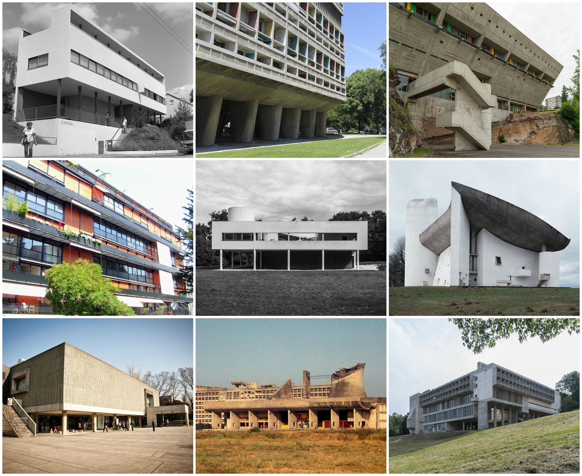 see the 17 le corbusier projects named as unesco world heritage sites archdaily. Black Bedroom Furniture Sets. Home Design Ideas