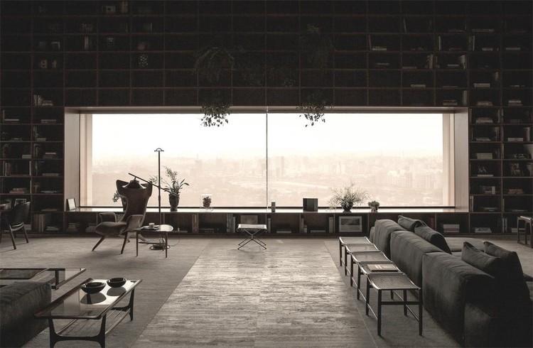 studiomk27, SP_Penthouse, São Paulo, Brazil. Imagen cortesía de INSIDE