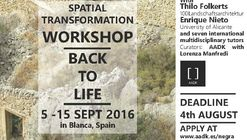 Spatial Transformation Workshop - Back To Life