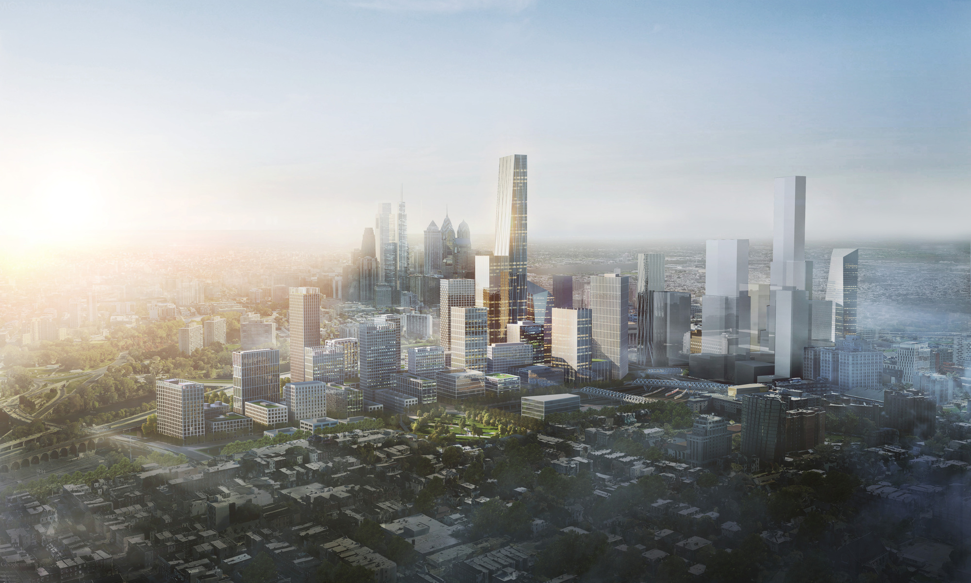 Gallery Of Som Reveals Plans For New Urban District Around Philadelphia S 30th Street Station 4