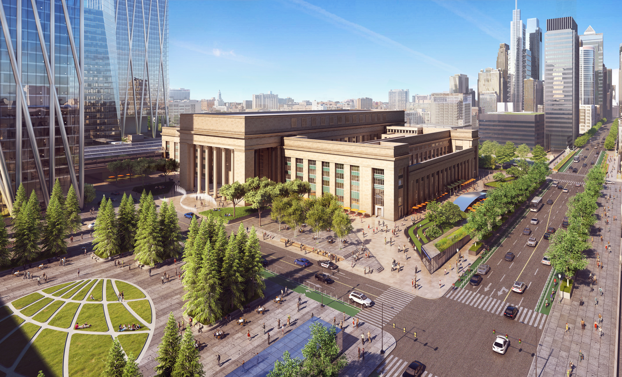 River City Floor Plans Gallery Of Som Reveals Plans For New Urban District Around