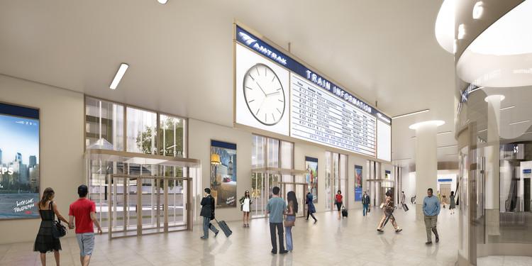 30th Street Station. Imagen © SOM
